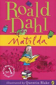 Länk till lärarhandledning för Roalds Dahls Matilda. Öppnas i samma flik.