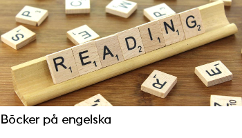 Länk till sidan Böcker på engelska. Öppnas i samma flik.
