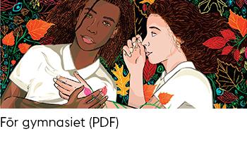Länk till PDF-dokument med tips på engelskspråkiga böcker för gymnasiet.