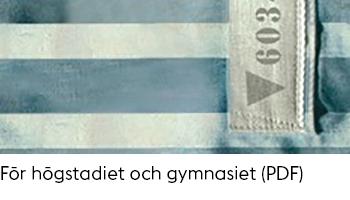 Länk till PDF-dokument med tips på böcker om Andra världskriget för högstadiet och gymnasiet.