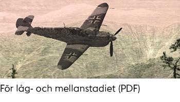 Länk till PDF-dokument med tips på böcker om Andra världskriget för låg- och mellanstadiet.