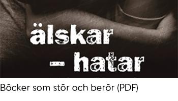 Länk till PDF-dokument med tips på böcker som stör och berör