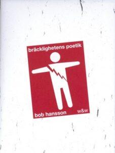 Länk till information om Hanssons Bräcklighetens poetik. Öppnas i samma flik.