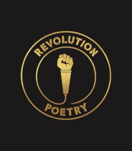Länk till information om antologin Revolution poetry. Öppnas i samma flik.